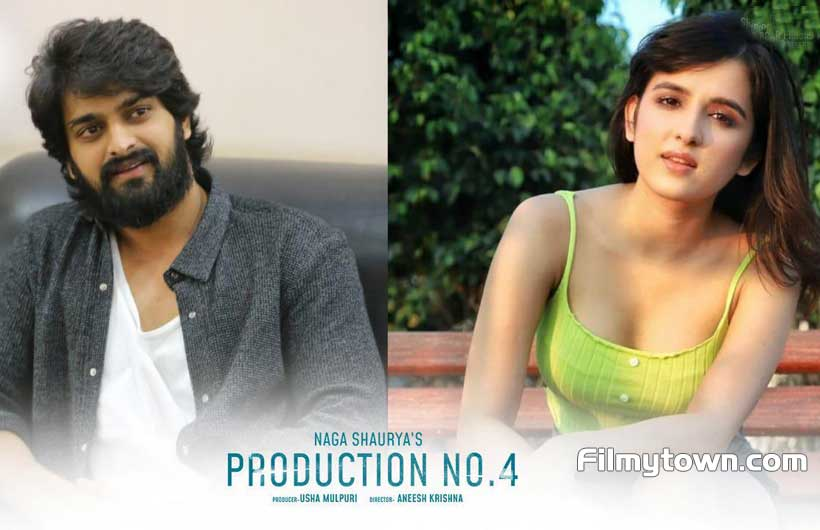 Naga Shaurya and Shirley Setia in Tamil Movie