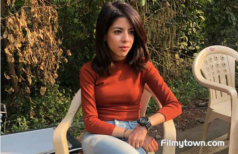 Rumana Molla on sets of Dev DD 2nd season