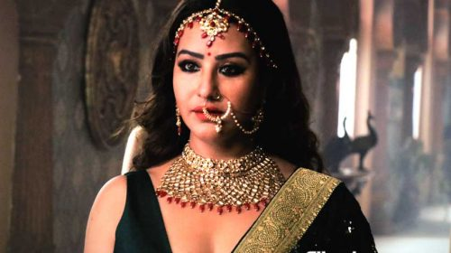 Shilpa Shinde as Queen Meerawati in Paurashpur
