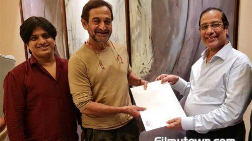 Vijay Shinde, Mahesh Manjrekar, Narendra Hirawat's collaboration for Marathi crime thriller