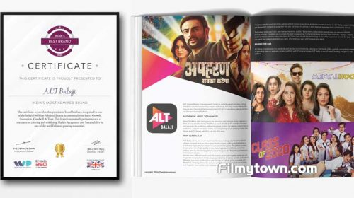 ALTBalaji is one of India's Top 100 Brands