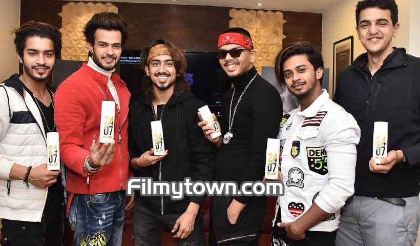 Adnaan Shaikh Launches 2407 Roar Deodorant