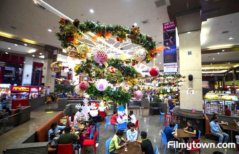 Christmas Decor at Infiniti Mall, Andher Mumbai