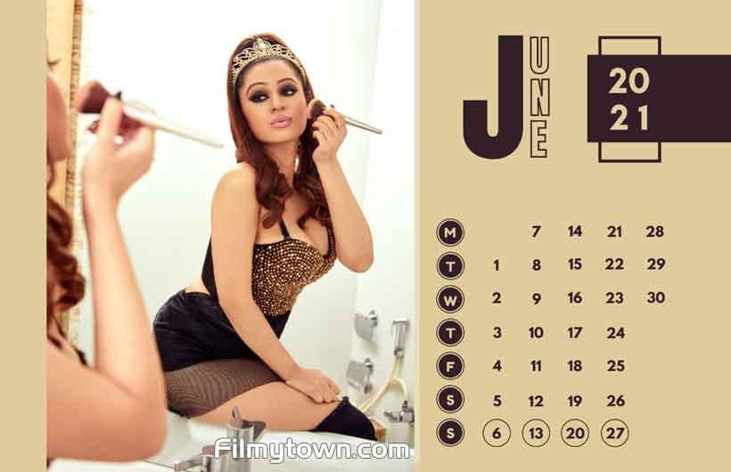 Kenisha Awasthi calendar 2021