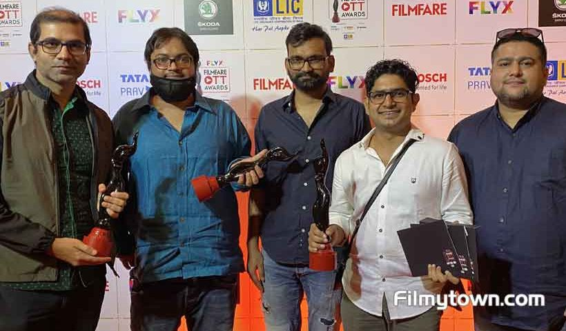 TVF's Panchayat bags 4 awards at Filmfare OTT Awards
