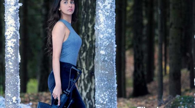 Malvika Raaj debuts in Bollywood films as a sniper in the action thriller SQUAD