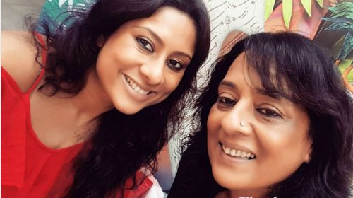 Sai Deodhar and Shrabani Deodhar launch Purple Morning Movies
