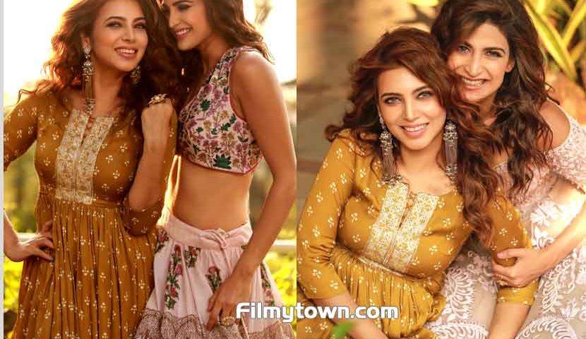 Neha Adhvik Mahajan designs Aahana Kumra's looks