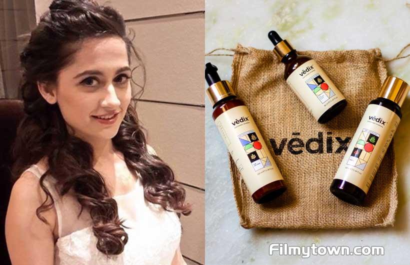 Sanjeeda Sheikh endorses Vedix
