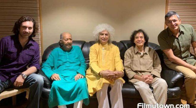 Rahul Sharma brings together Pt Hari Pasada Chaurasia, Pt Shivkumar Sharma, Ustad Rashid Khan, Zakir Hussain, Sonu Nigam for Ramyug
