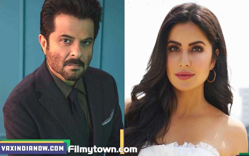 Anil Kapoor and Katrina Kaif