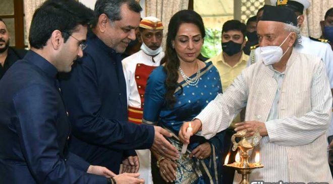 Governor Koshyari invites Paresh Rawal, Hema Malini to launch logo of the Delphic Council of Maharashtra