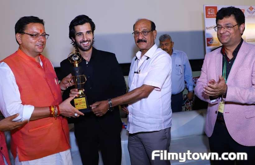 Aditya Seal at Dehradun International Film Festival