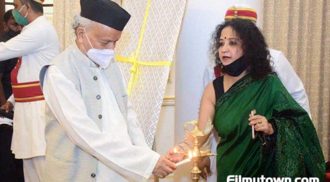 Hon'ble Governor Bhagat Singh Koshyari impressed with Shalini Shah's film Samosa and Sons
