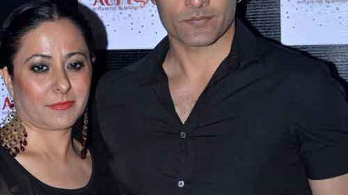 Mona and Sudhanshu Panday of Veera teleserial fame.