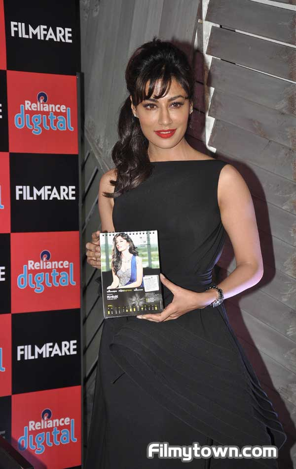 Chitrangada Singh launches Reliance Digital Filmfare 2014 calendar