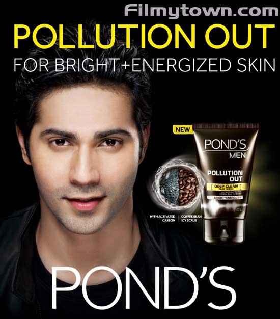 Varun Dhawan Ponds Men Pollution out