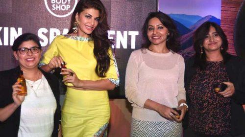Jacqueline at The Body Shop Launch