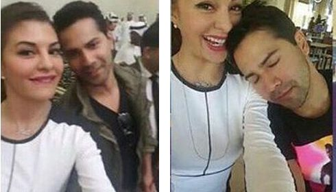 varun dhawan and jacqueline fernandes in uae