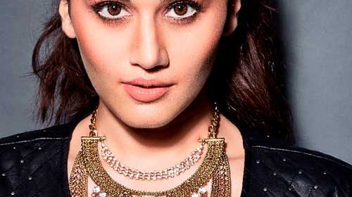 Taapsee Pannu early on sets