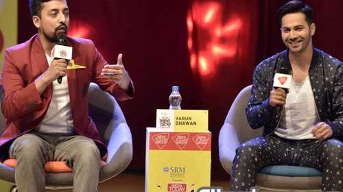 Varun Dhawan at India Today Youth Summit