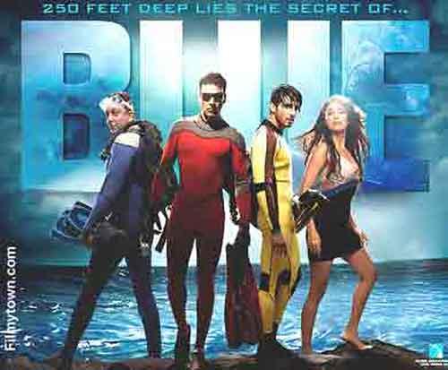 Blue, movie review