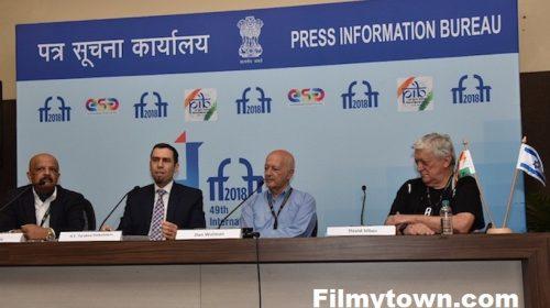 Dan Wolman's press conference at IFFI 2018