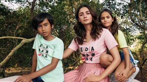 Alia Bhatt launches Ed-a-mamma line of clothing for kids