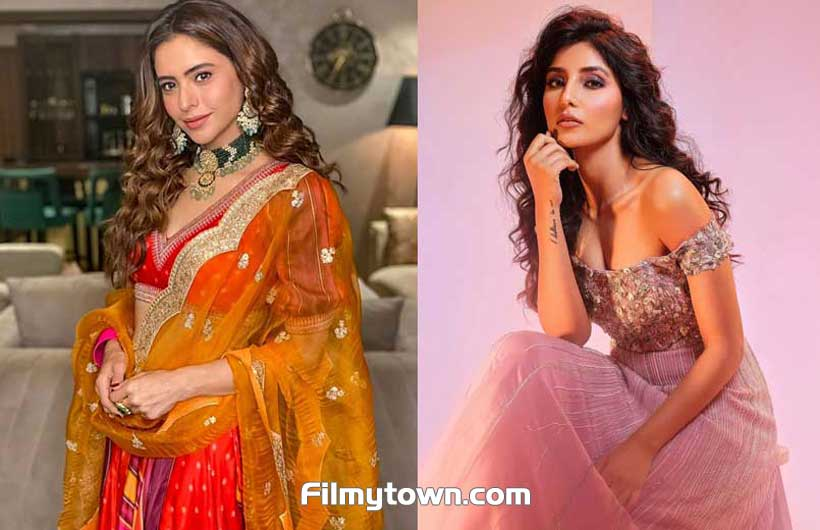 Amna Sharif and Harshita Gaur