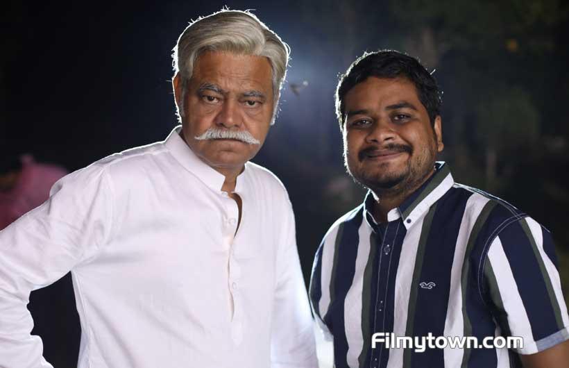 Raaj Aasho with Sanjay Mishra