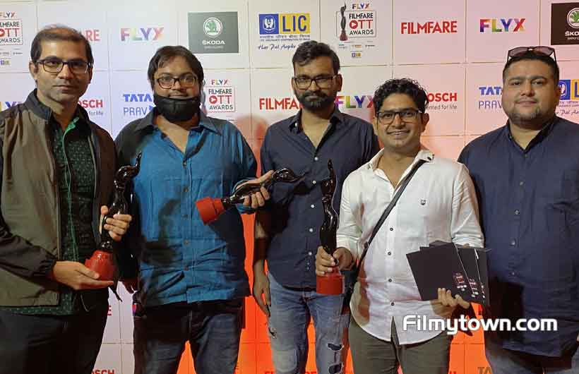TVF's Panchayat bags 4 awards at Filmfare OTT Awards