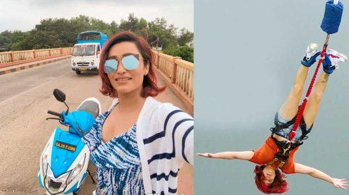 Vlogger and actress Aarya Vora