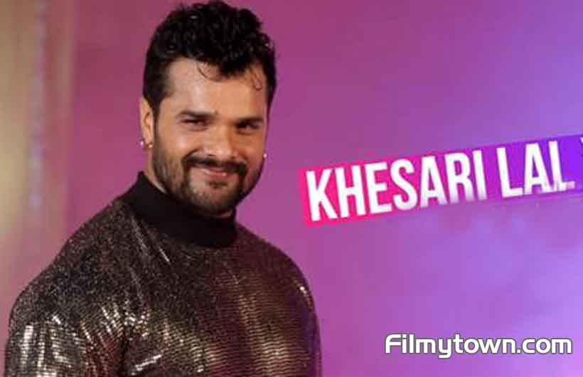 Khesari Lal in Saregama's video