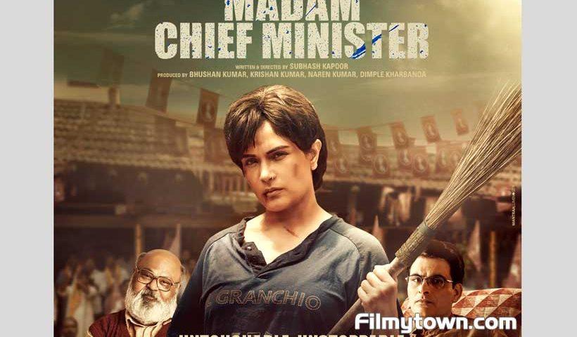 Madam Chief Minister Poster