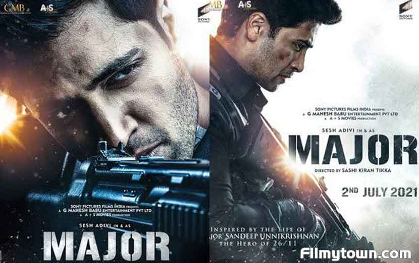 Teaser of Major to be launched by Salman, Mahesh Babu, Prithviraj