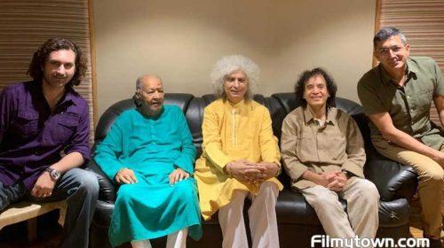 Rahul Sharma, Shivkumar Sharma, Hariprasad Chaurasia, Zakir Hussain