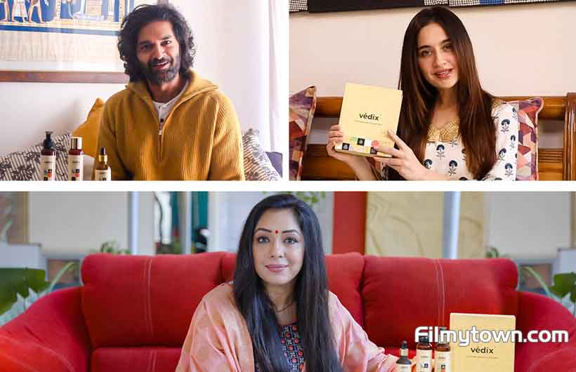 Filmy celebs turn to Vedix for Hair care