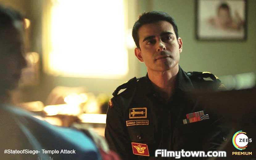 Gautam Rode plays Major Samar in State of Siege - Temple Attack