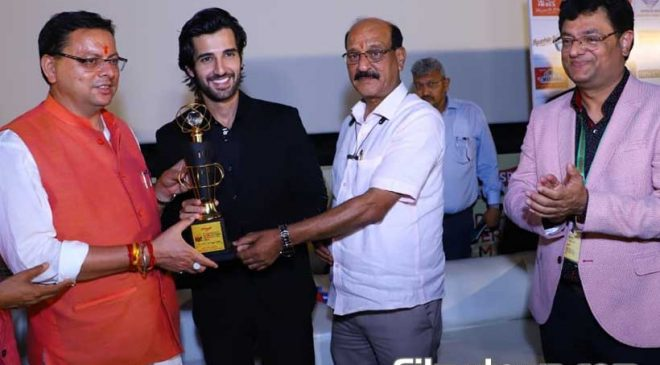 Aditya Seal named the 'Most Promising Actor' at Dehradun International Film Festival